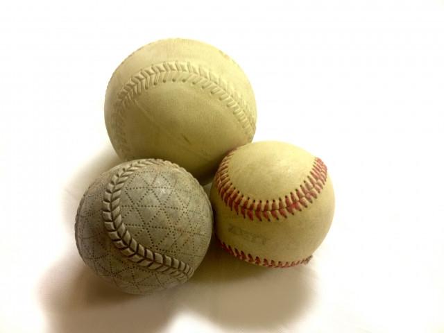 ソフトボールなどの画像