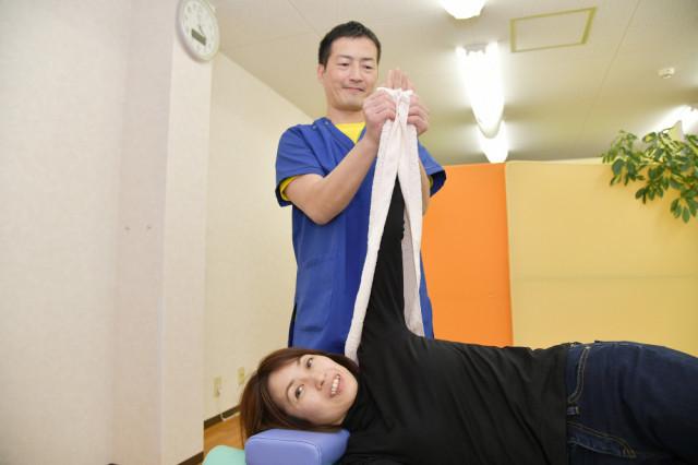 Dr.整体 天白の手の筋膜に対する施術イメージ写真